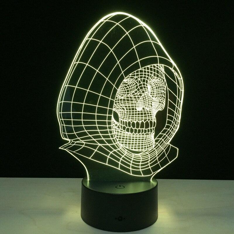 Luzes da Noite 3d visual criativo luz da Tipo de Ítem : Night Lights