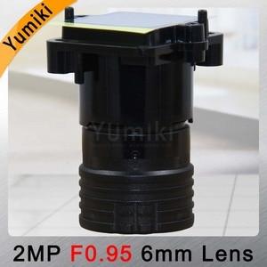 """Image 5 - Yumiki F0.95 F1.0 6mm ogniskowa obiektywu 2MP 1/2. 7 """"specjalne dla przetwornik obrazu IMX327, IMX307, IMX290, IMX291 płytką kamery moduł tablicy"""
