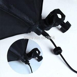 Image 5 - Софтбокс для фотостудии, 2 шт., 50*70 см, E27, держатель для одной лампы, 100 240 В, непрерывный светильник, диффузор, мягкая коробка, 2 м, светильник, подставка, 2 шт.