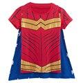 Wonder Woman Camiseta Con Capa