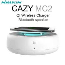 NILLKIN УЮТНЫЙ MC2 ЦИ БЕСПРОВОДНОЕ Зарядное Устройство + Bluetooth динамик, музыка Surround Speaker Беспроводной Зарядное Устройство для Samsung s6 s7 s7 edge и т. д.