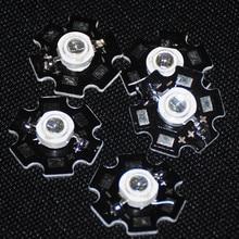 5pcs IR LED Infrared 3w 850nm Diodes IR LED 3watt 850nm Infrared Diode For Night Vision LED 3W 850nm IR Diode With 20mm Star PCB