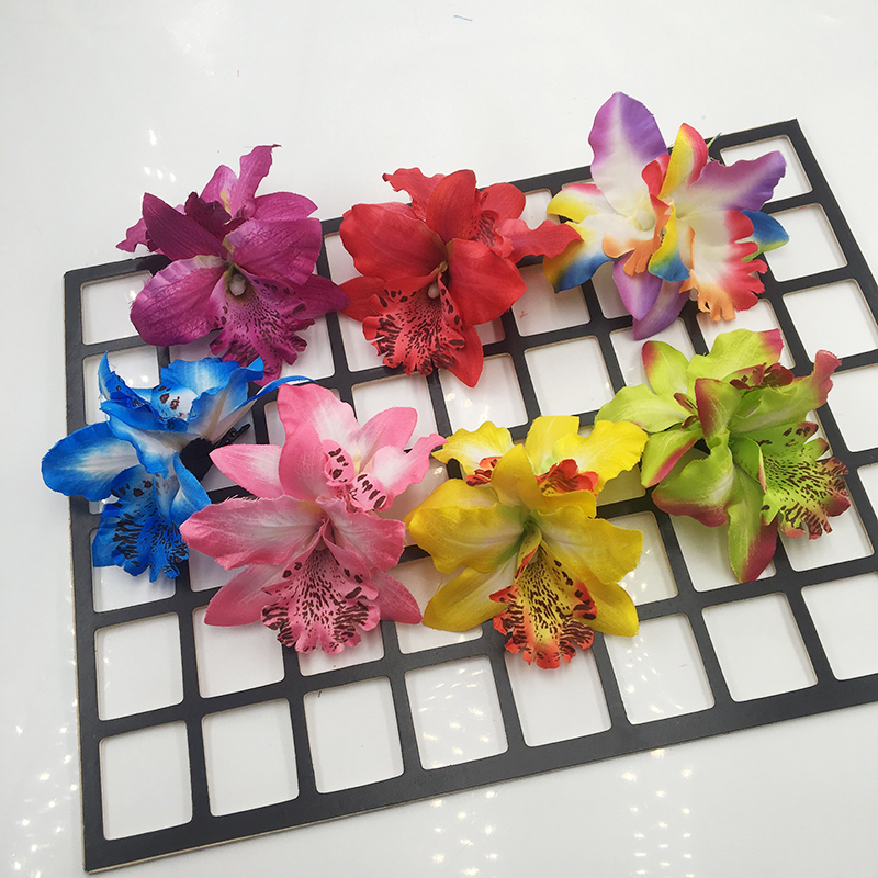 Floral Hair Clips   Headwear   Multicolor Hawaiian Hibiscus Flower Hair Accessories for Girls Women Beach Wedding Party Supplies