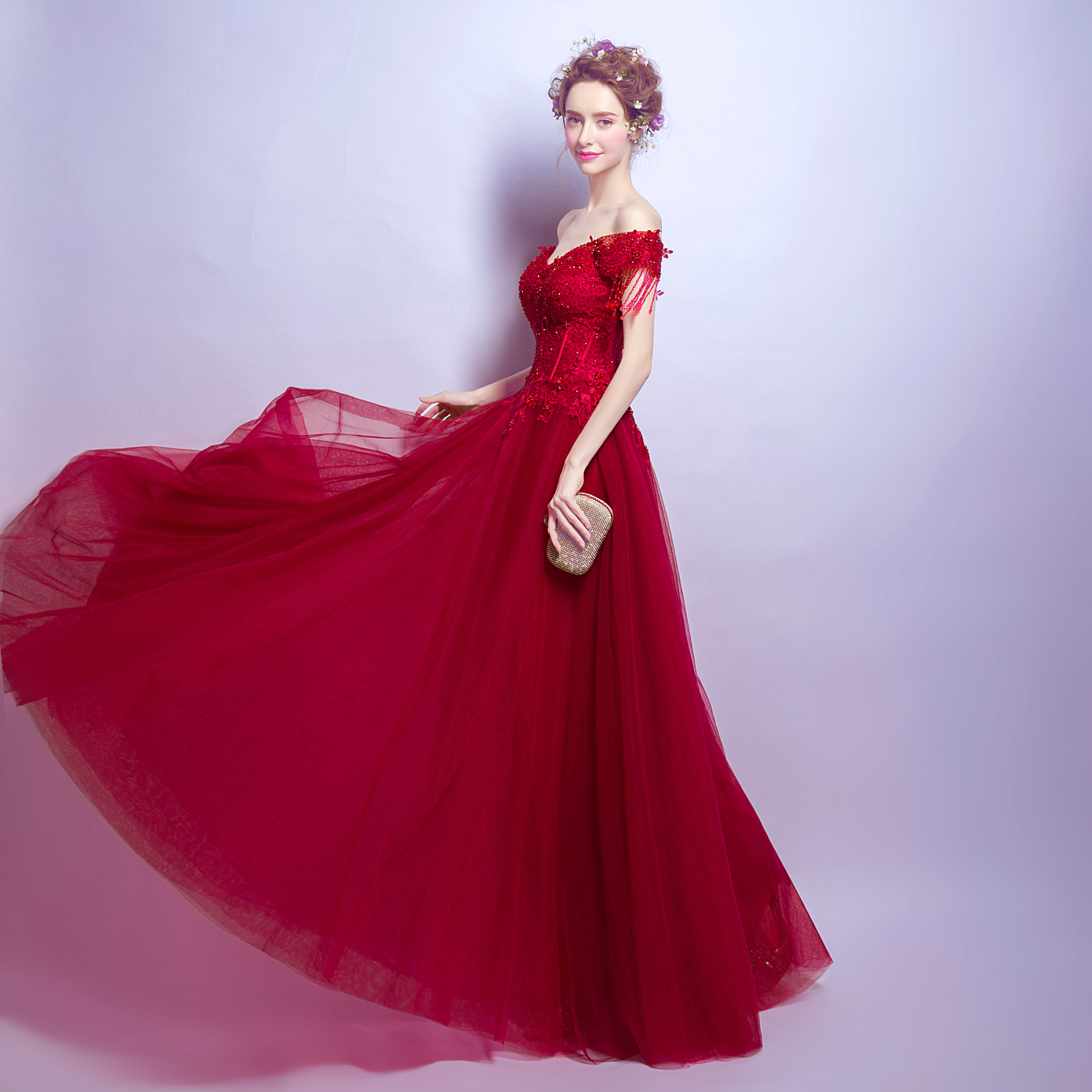 2017 new arrival stock maternity plus size bridal gown evening 2017 new arrival stock maternity plus size bridal gown evening dress night long hot special occasion graduation red lace 2800 in evening dresses from ombrellifo Image collections