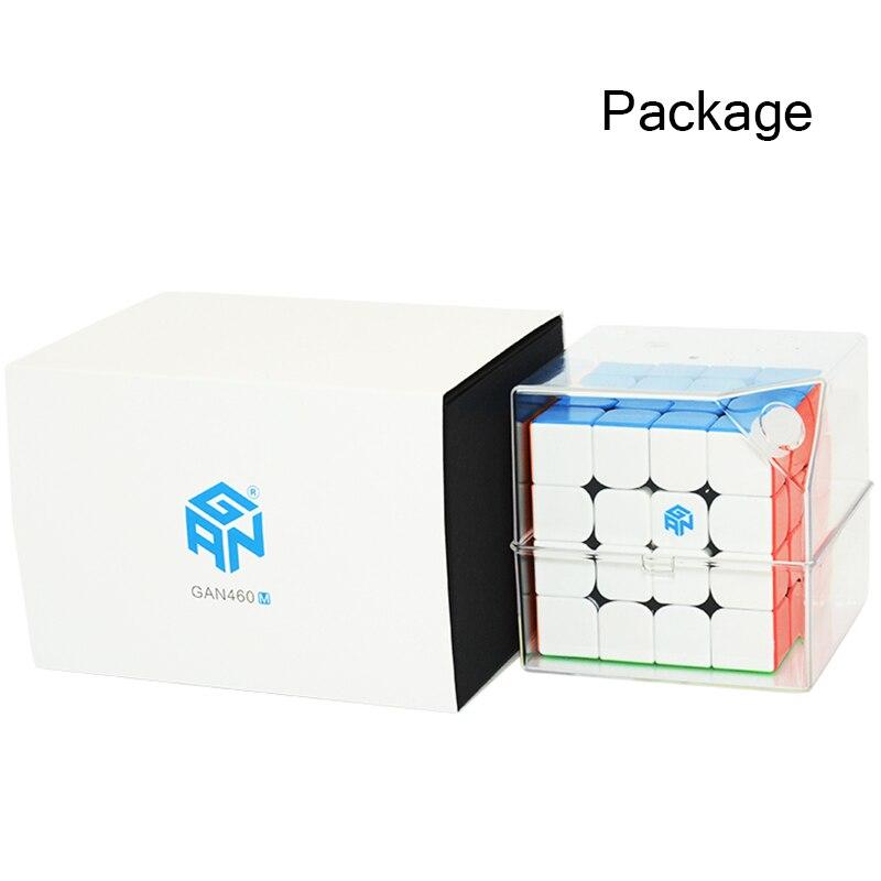 GAN460 M 4*4*4 Magnétique Professionnel Magic Speed Cube GAN 460 Éducatifs 4x4x4 puzzle Jouets Pour Enfants L'apprentissage Cubo jouets magiques - 6