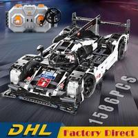 1586 Pcs Romote Control Racing Car Technic Series Building Blocks Vehicle Bricks DIY Educational Toys LegoINGlys with Motor