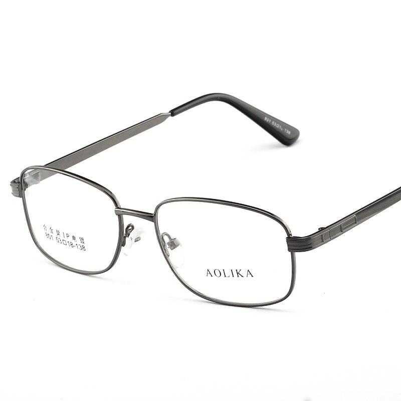 2017 Metall Lesen Brillen Frames Männer Für Lesebrille Auge Rahmen Klassische