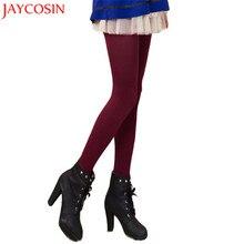 9ff352e4a1c8b Femmes Automne Hiver Nouvelle Mode Mulit Couleur Maigre Chaud Skinny  Leggings Réchauffement Haute Élastique Tuyau de