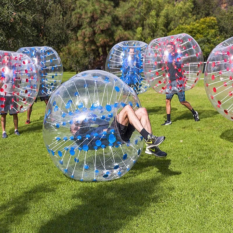 Boule pare chocs 1 M (3.28 pieds) de diamètre, boule à bulles, utilisation pour jouer au football, jeu de plein air pour enfants, jouets de plein air - 2
