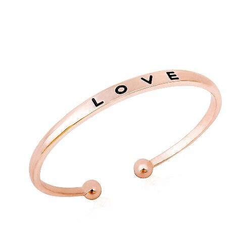 Colors Bracelet Simple Love Bracelets For Women Bangles Jewelry Gifts
