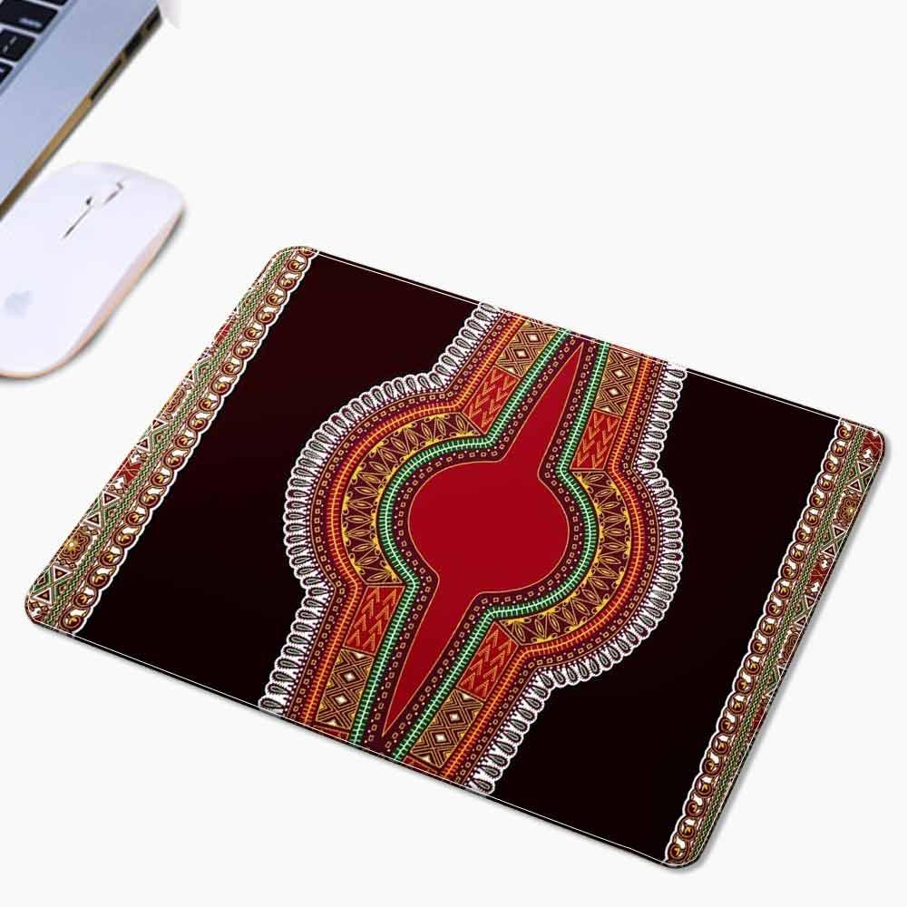 Shenbolen vente chaude élégant souris fou personnalisé africain impression tapis de souris 3 pièces/1 pack 22*18*0.2 cm peut être personnalisé