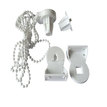 25mm Kit Cluth Window Treatments Hardware Bracket Bead Chain Control Ends Roller Blind Shade Curtain Accessories Home Decor