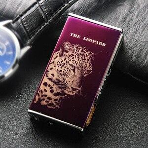 Image 5 - Nuovi Modelli USB Più Leggero Impulso Elettrico Ad Arco Sigaretta Accendino Antivento Thunder Sigaretta In Metallo Plasma Senza Fiamma Cigar