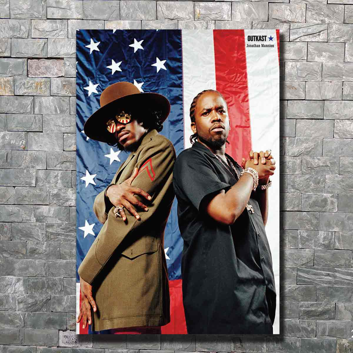 OUTKAST Stankonia Hip Hop Duo Album Art Poster custom Home Wall decor 8x1212x18 24x36canvas living roomdecoration image