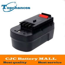 High Quality 2000mAh 18V NI CD Replacement Power Tool Battery for Black Decker HPB18 244760 00