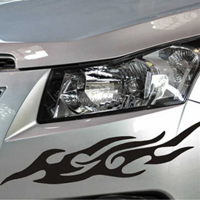 Car accessories fire totem reflective stickers car stickers styling for hyundai elantra ix35 solaris accent i30