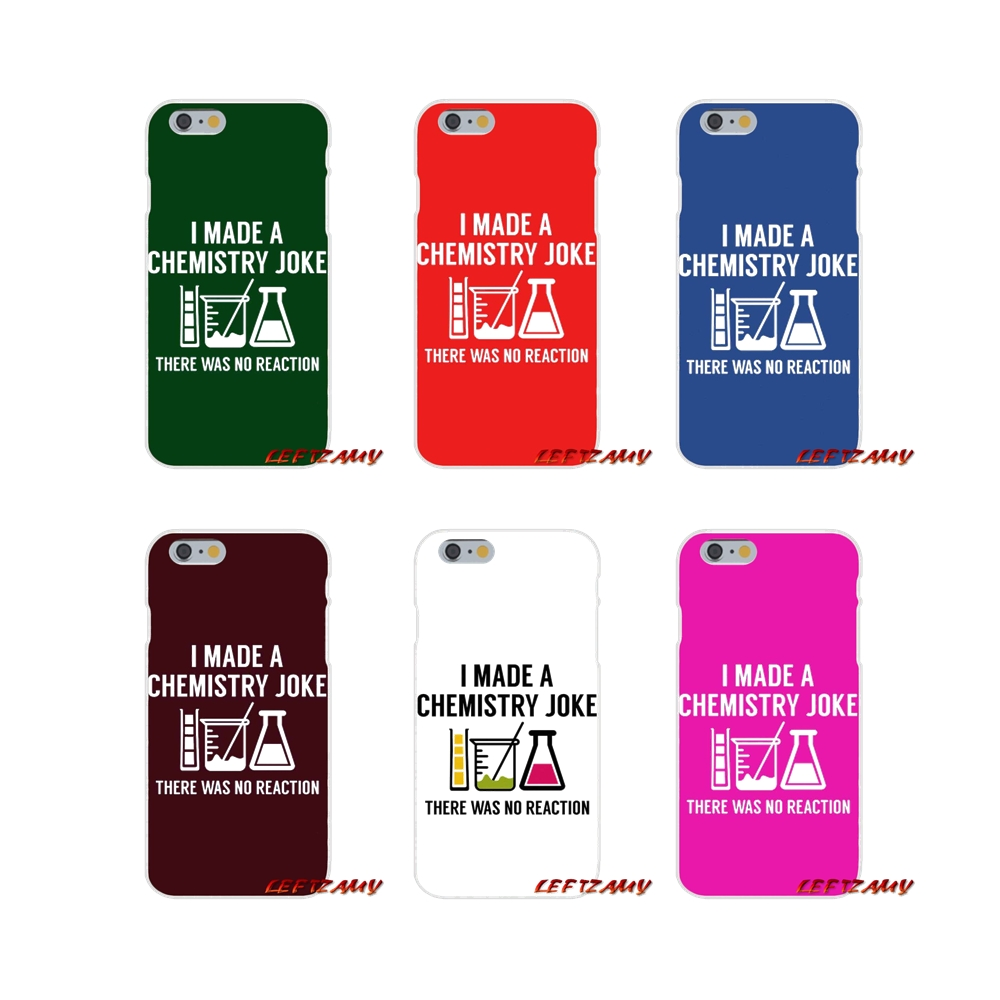 I Made A Chemistry Joke Art Slim Silicone phone Case For Samsung Galaxy S3 S4 S5 MINI S6 S7 edge S8 S9 Plus Note 2 3 4 5 8
