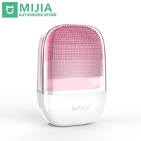 In stock Xiaomi inFace Small Cleansing Instrument Deep Cleanse Sonic Beauty Facial Instrument Cleansing Face Skin Care Massager