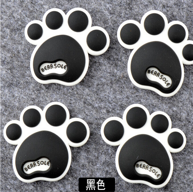 Car-Styling Animal Dog Bear Footprint Decal Stickers For Volkswagen vw Jetta Tiguan POLO Passat CC Golf GTI R20 R36 EOS Scirocco
