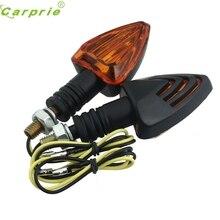 Dependable Fashion car styling Universal Waterproof 2x Motorcycle Turn Signal Indicator Halogen Light Bulb Blinker My18