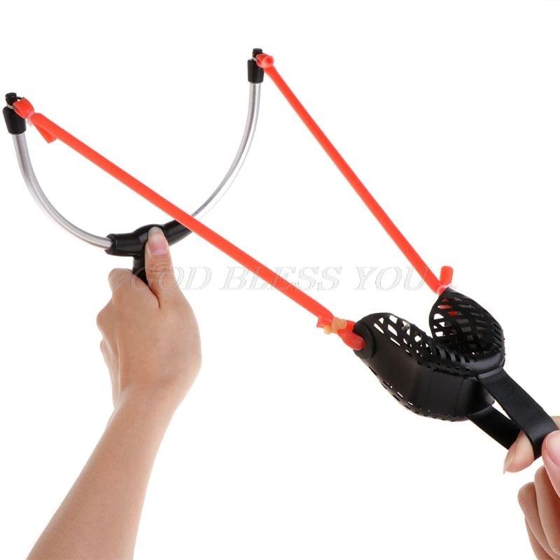 Carp fishing New Slingshot method feeder gear pin organ bait thrower  catapult