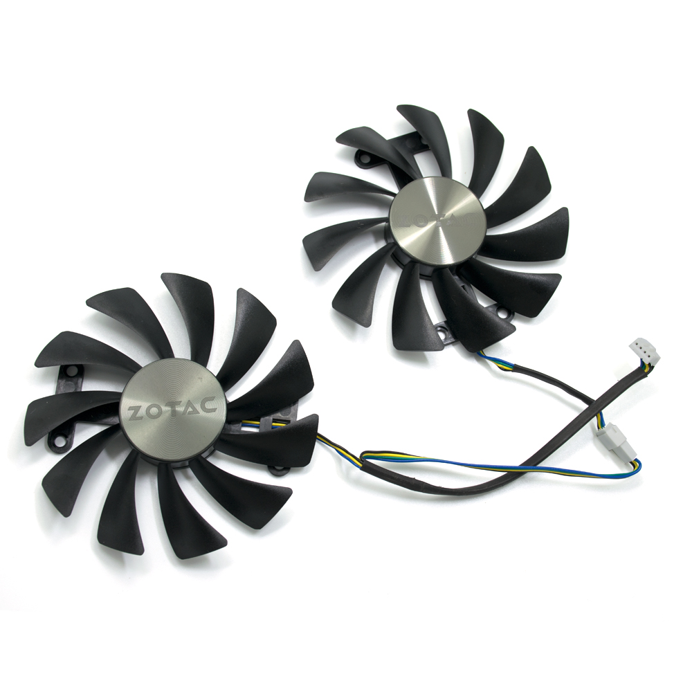 NEW 95mm 4PIN GTX 1080 Cooler fan For ZOTAC GeForce GTX 1070 AMP Edition 8G GTX 1080 AMP Edition 8G Graphic Cards image