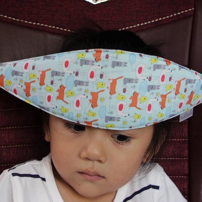 Baby Pillows Safety Car Seat Sleep Nap Head Band Children