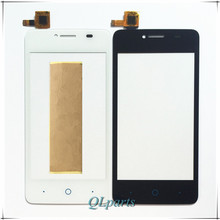 4 inch Touchscreen Sensor For ZTE Blade AF3 T221 Touch Screen Glass Digitizer Front Outer Touch Panel Replacement Free Shipping original new 10 1 inch f odys space 10 plus 3g tablet touch screen panel digitizer glass sensor replacement free shipping