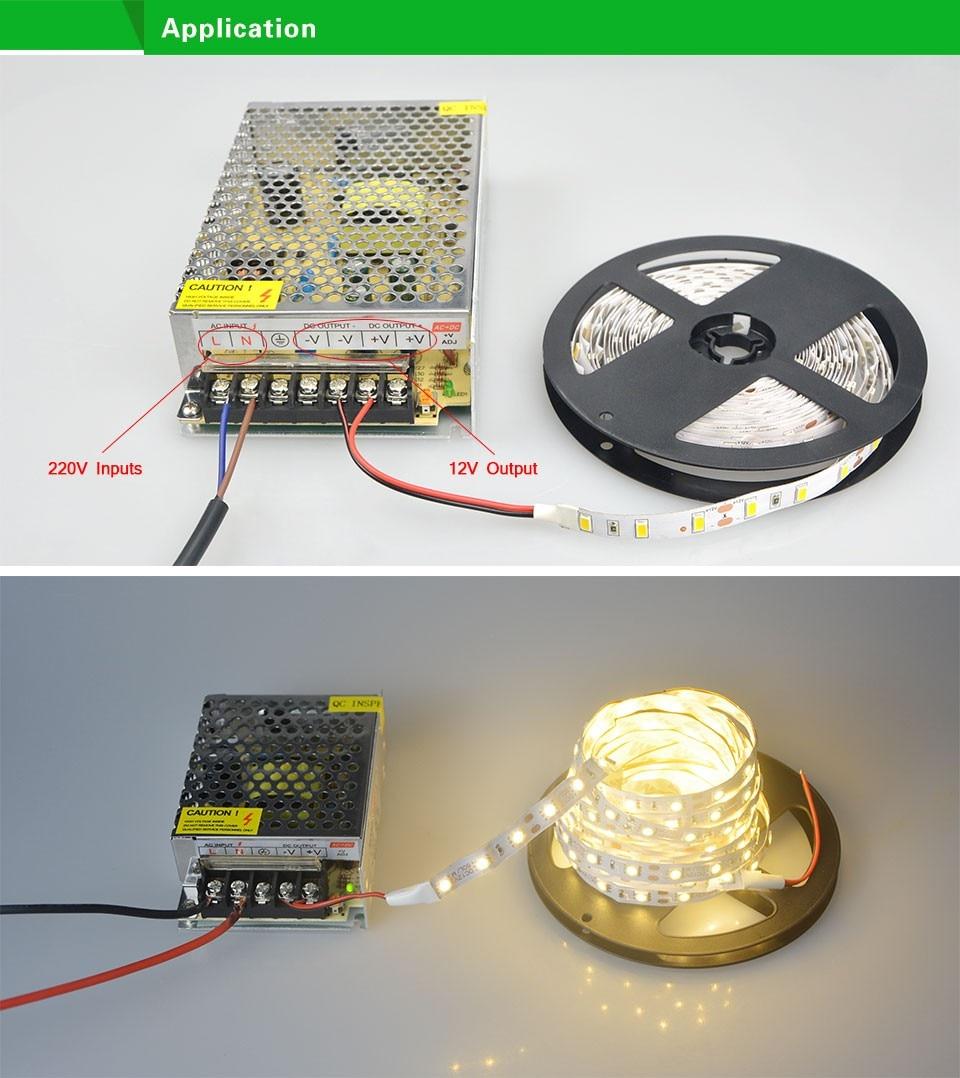dc12v piscina lampada led transformador 06