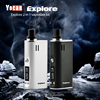 Yocan Explore 2 In 1 Wax And Dry Herb Vaporizer Electronic Cigarette Kit Mod Box 2600mAh