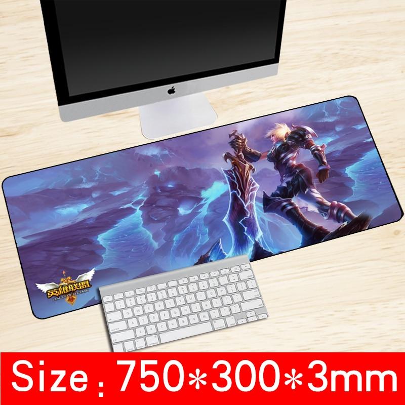 750x300x3mm universelle hochwertige verschließkante mousepad - Computer-Peripheriegeräte - Foto 1