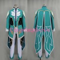 Newest Custom Made High Quality Tales of Zestiria Mikleo Uniform Set Cosplay Costume For Christmas Halloween Festival