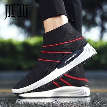MumuEli Black Red Fashion Luxury 2018 Men Shoes Breathable Casual High Top Quality Designer Flat Skateboard Male Sneakers 3603 zapatillas de moda 2019 hombre