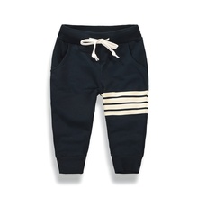 2017 Autumn Baby Boys Casual Pants Kids Clothing Cotton Boys Long Trousers Sports Play Game Preferred 1~10 Y