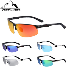 Jomolungma PG900 Sport Sunglasses Polarized UV400 Aluminium Magnesium Alloy Fishing Glasses Golf Glasses Mens Outdoor Eyewears