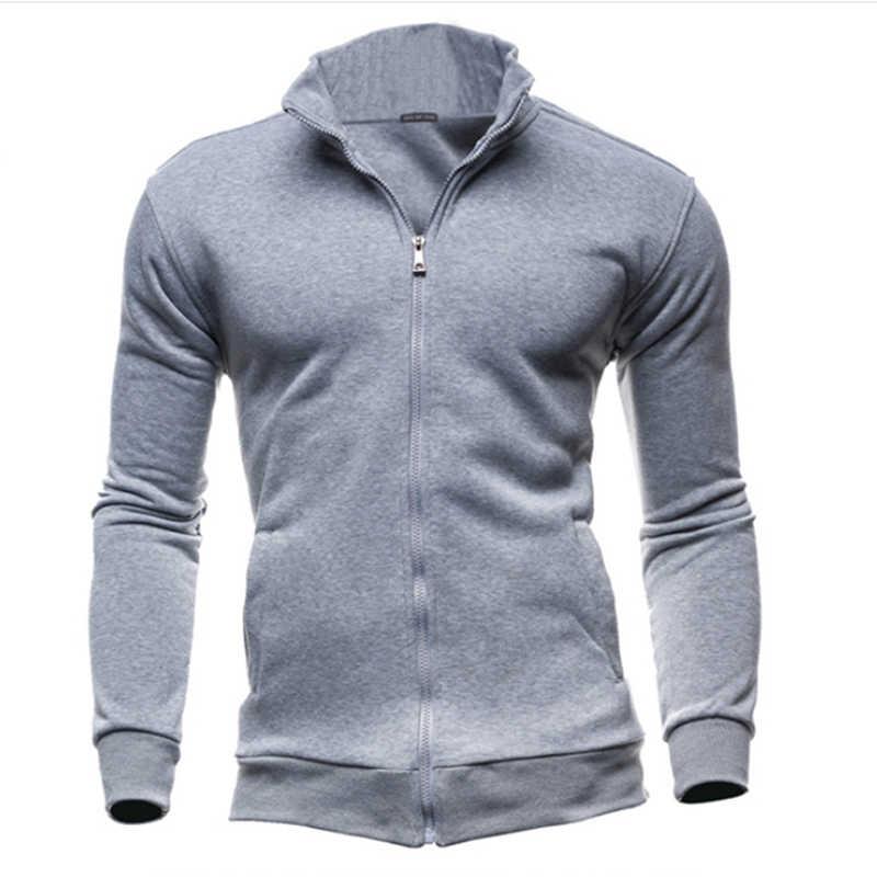 Più il Formato 3XL Autunno Inverno Felpe Pile Uomini Felpe Zipper Fitness Hoody Giubbotti E Cappotti Per Gli Uomini Cardigan