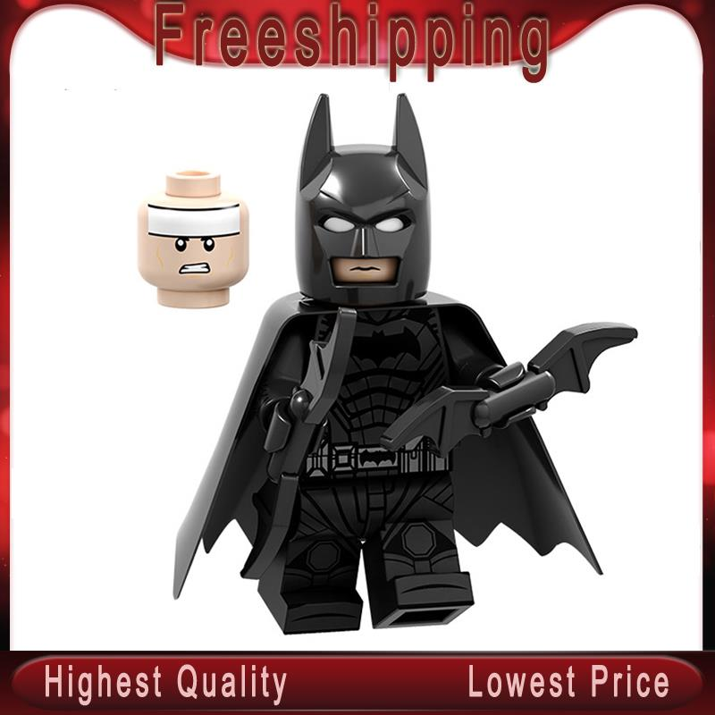 Super Heroes Building Blocks Bane Batman Victor Fires Catwoman Bricks S Model Action Figures Toys For Children PG1622