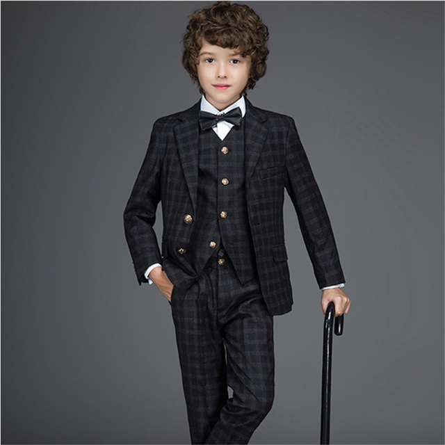 Custom Made New Style Boys Formal Wear Formal Boy Kids Dress Suit