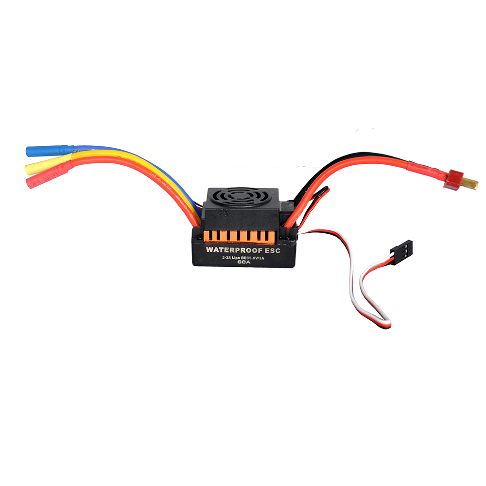 Image 4 - OCDAY 3650 5200KV 4 poles Sensorless Brushless Motor with 60A Electronic Speed Controller Combo Set for 1/10 RC Car and Truck-in Parts & Accessories from Toys & Hobbies