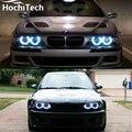 Горячий стиль SMD angel eyes супер яркий белый halo led свет комплект Для BMW E36 E38 E39 E46 1992-2005