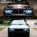 Hot style SMD angel eyes super bright white led halo light kit For BMW E36 E38 E39 E46 1992 - 2005