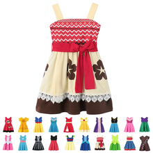 Snow White Dress For Girls Summer Moana Baby Girl Costumes Fancy Frocks Anna Belle New Model Hot Sales 2019