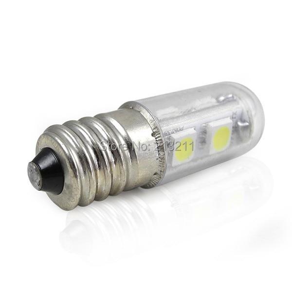 1pc Led Light Chandelier 220v 110v E14 1w Led Small Mini Bulb Lights Indicator Lamp For Fridge