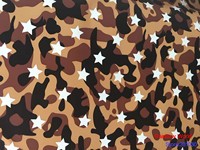 High Quality Star Pattern Faux PU Leather Fabric For DIY Sewing Sofa Table Shoes Bags Bed