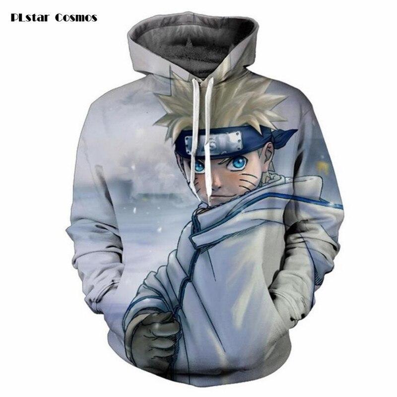 PLstar Cosmos 3D Print character Uzumaki Naruto/Sasuke Anime Hoodie Sweatshirt Men Women Outerwear casual Pullovers Jacket tops