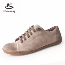 Men casual shoes men genuine leather flat sneakers luxury brand flats shoes lace up loafers moccasins men footwear 2019 cangma british style men luxury brand shoes suede genuine leather sneakers moccasins green casual shoes man adult mens footwear