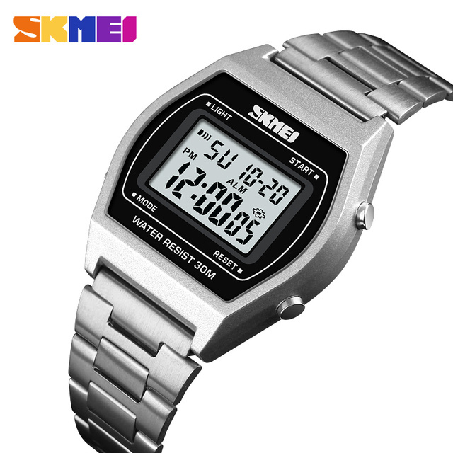 95a2eb0b62f Relógio Digital de SKMEI 1328 Marca Top de Luxo Homens Mulheres Ao Ar Livre  esporte LCD