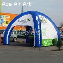 Надувные паук палатка/открытый покрытие автомобиля/вечерние/события станций палатки со съемными стен 2 стороны открыты для реклама