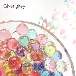 600pcs Gun Pistol Water Bullets Crystal Soft Bullet Paintbal Toy Infrared Shooting Balls Soil Water Beads Jelly