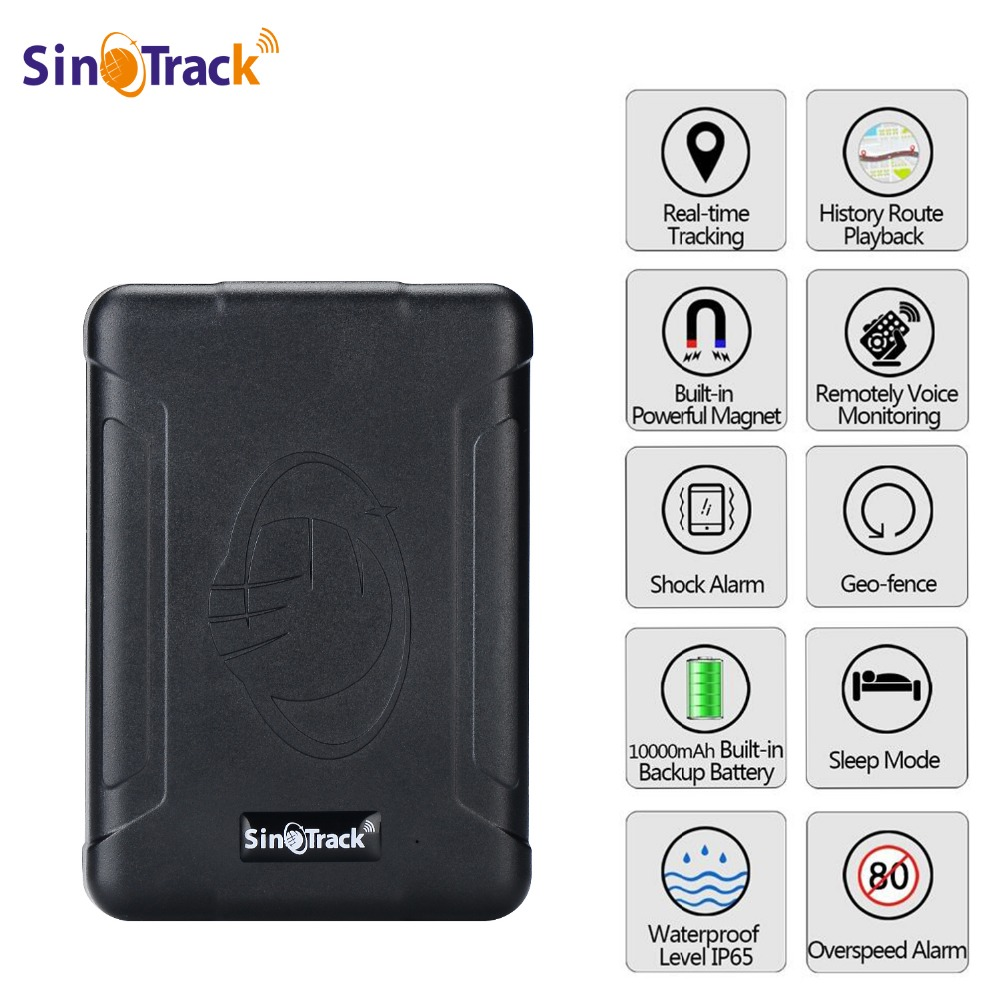 Waterproof GPS Tracker ST-915 Vehicle Locator Magnet TK915 Long Standby 120 Days 10000mAh Battery Real Time Position Tracking a10 gps tracker locator for car vehicle google map 5000mah long battery life gsm gprs tracker